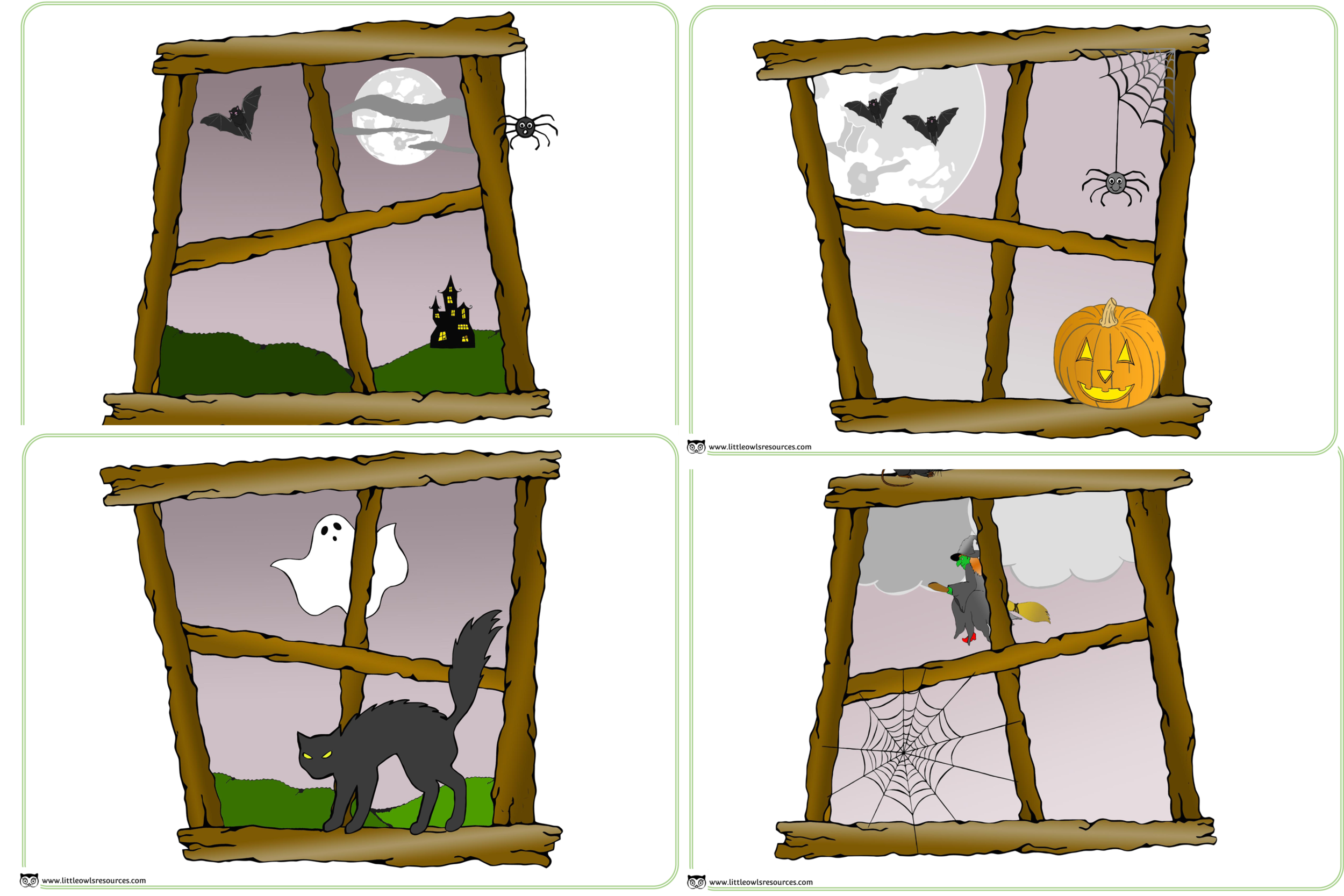graphic about Window Printable identify Absolutely free Spooky Halloween Home windows printable function-participate in Early