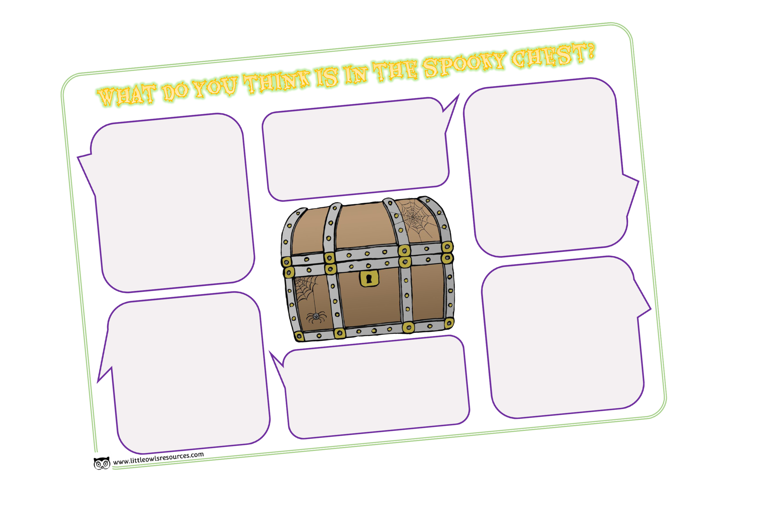 'WHAT'S INSIDE THE SPOOKY BOX?' ACTIVITY