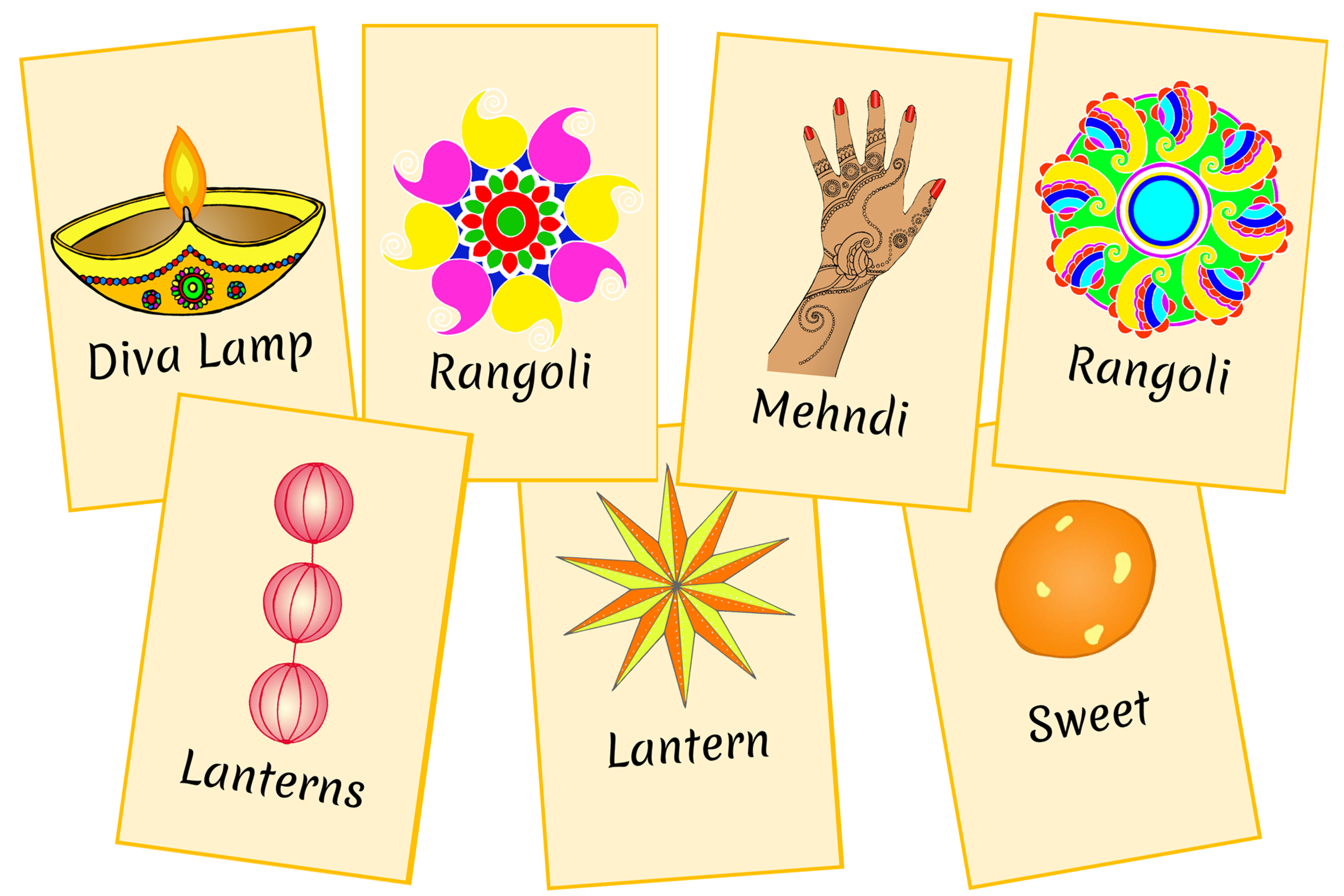 DIWALI PICTURE SNAP/MEMORY GAME