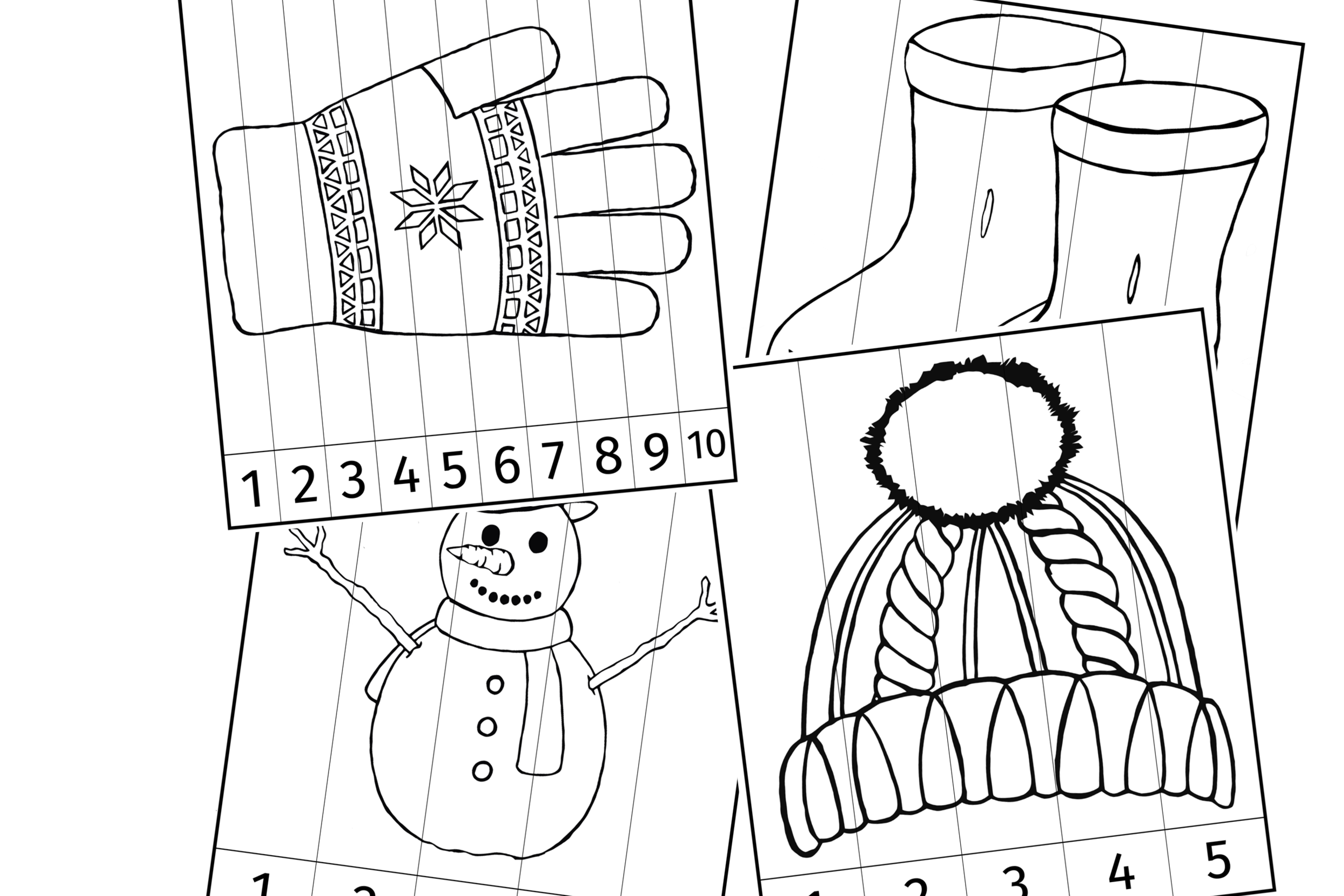 Winter Number Slice Pictures ColouringCover.png