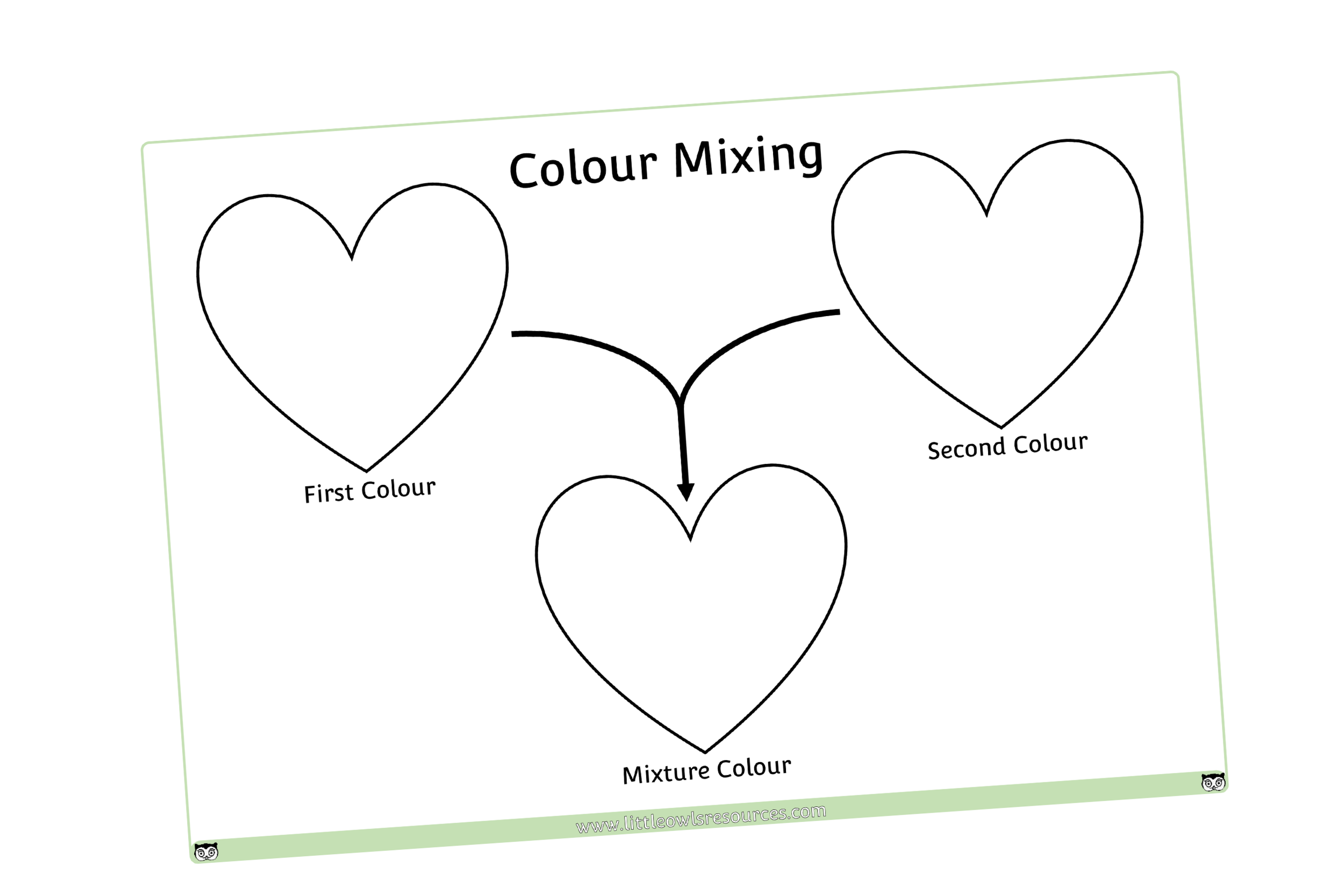 COLOUR MIXING HEARTS