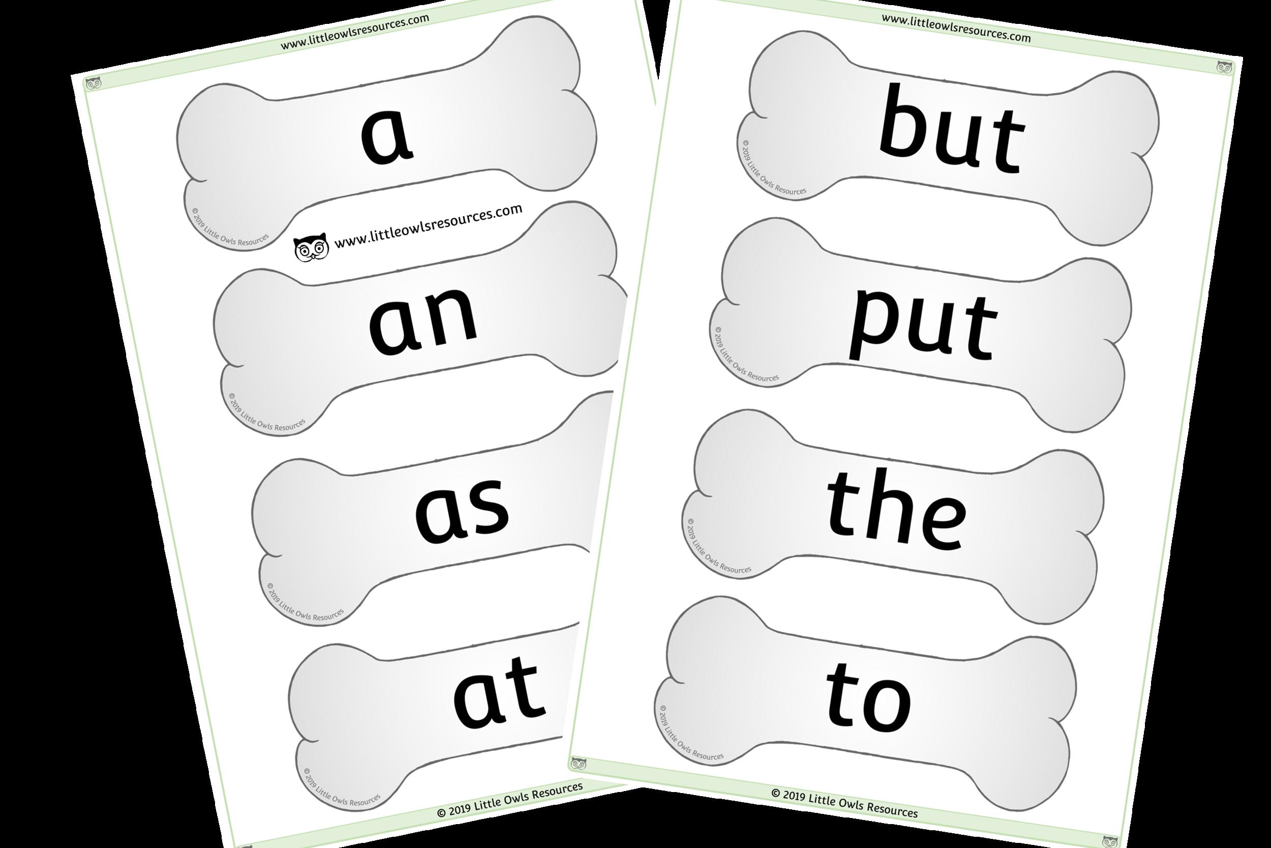 Phase 2 Keywords on Bones