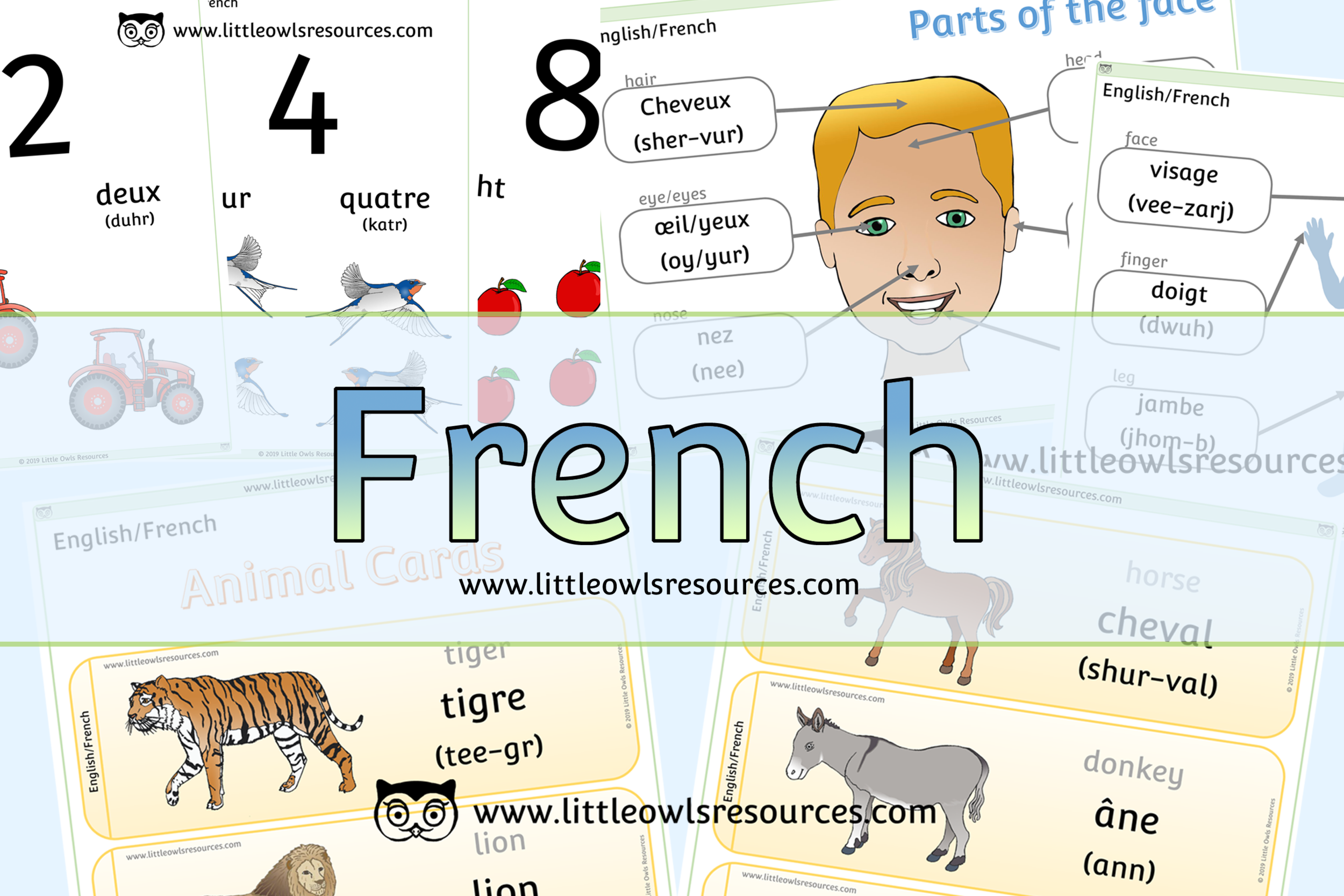 French/English Dual Language Resources