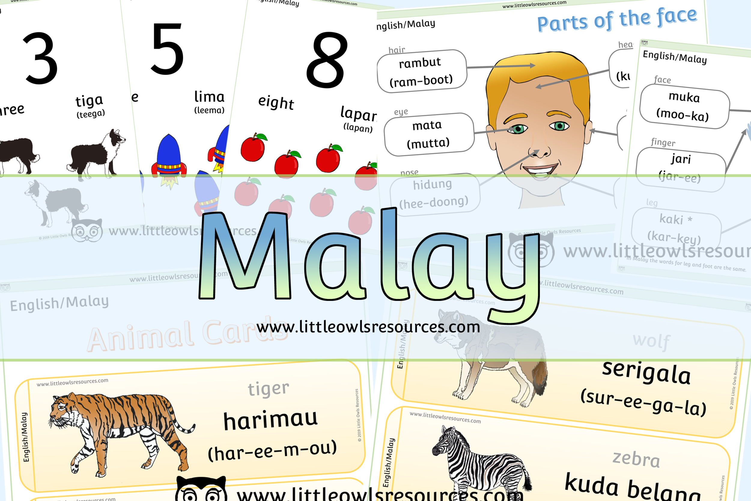 Malay/English Dual Language Resources