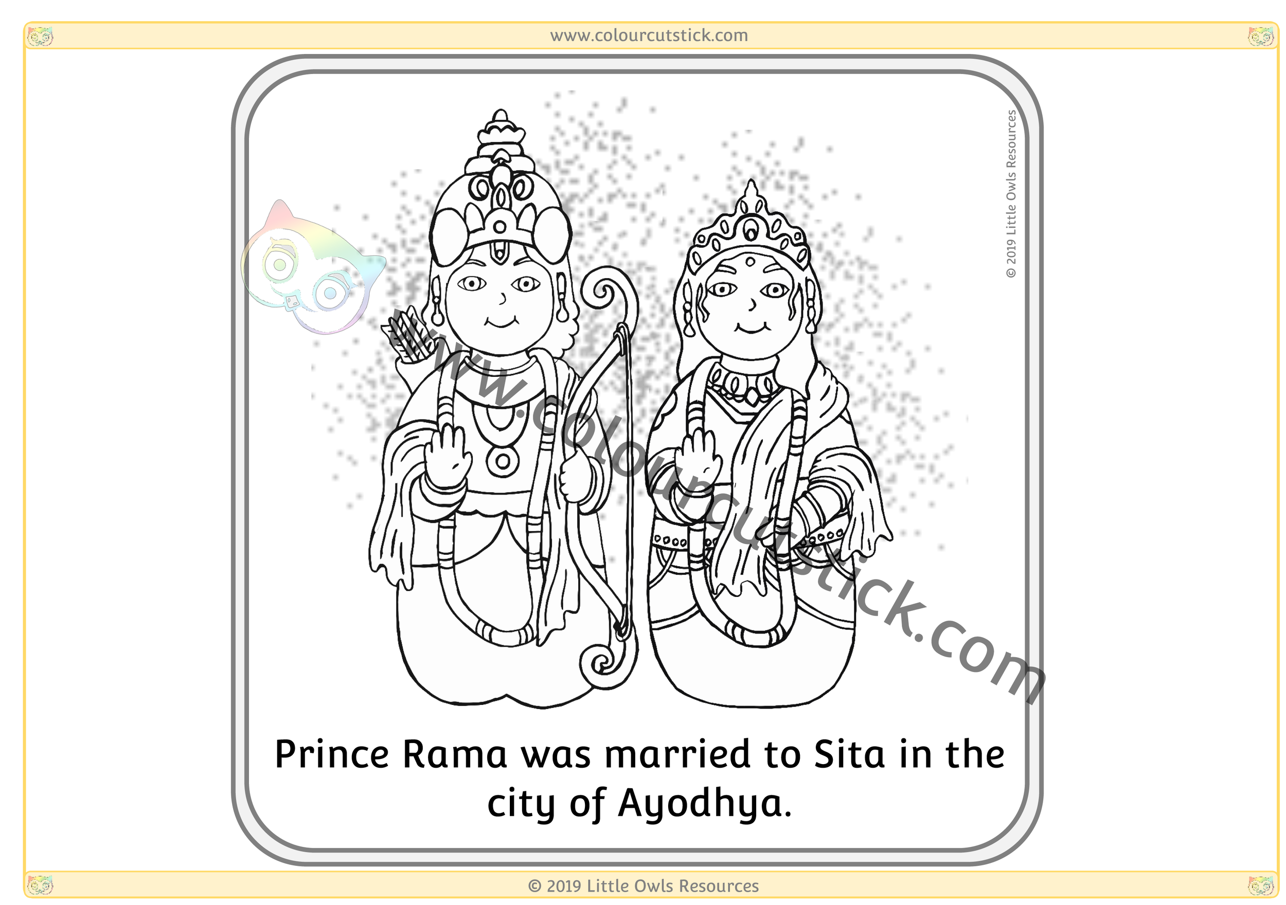Diwali Story Sequence Colouring Cards CCS-1.png