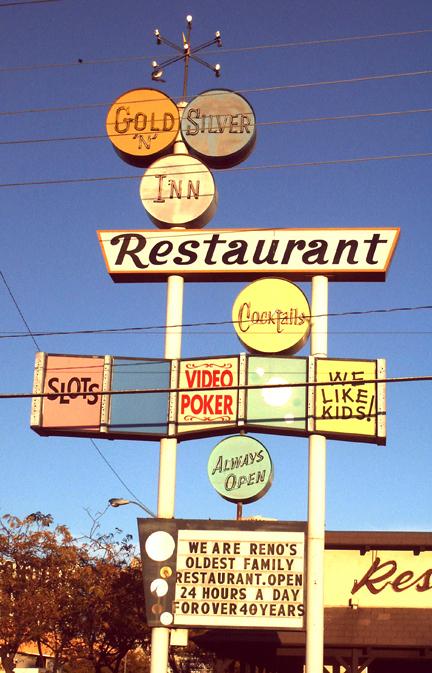 Gold 'N Silver Restaurant. Reno, Nevada