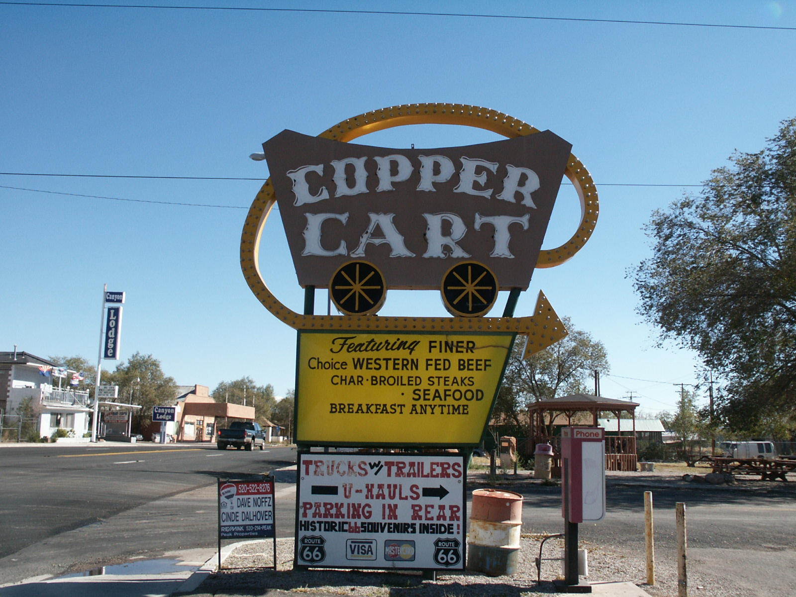Copper Cart - Seligman, Arizona