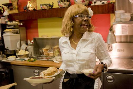 Dolores Jeanpierre - Ole's Waffle House. Alameda, CA