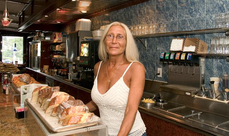 Sammi DeAngelis - Seville Diner. East Brunswick, New Jersey