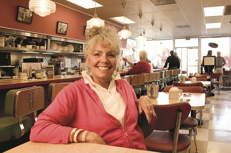 Sondra Dudley - Buttercream Diner. Napa, CA