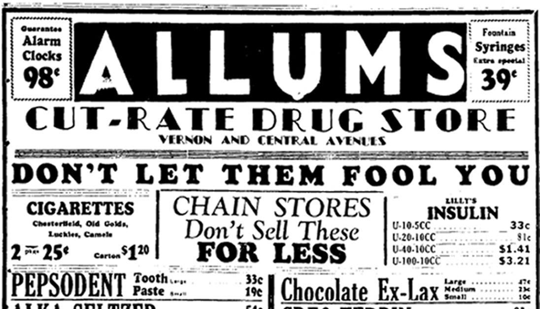 ALLUMS DRUG STORE