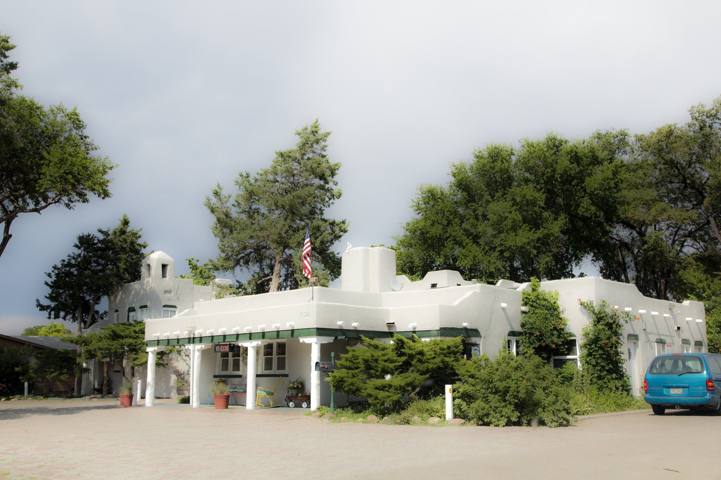 Coronado Motel - Pueblo, Colorado.  Photograph by Candacy Taylor, 2017