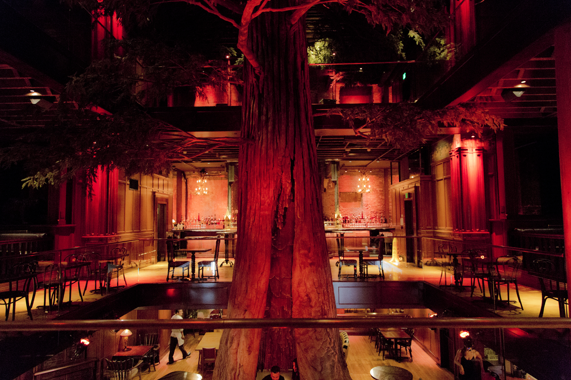 Clifton's Cafeteria - Los Angeles, California.  Photograph by Candacy Taylor, 2016