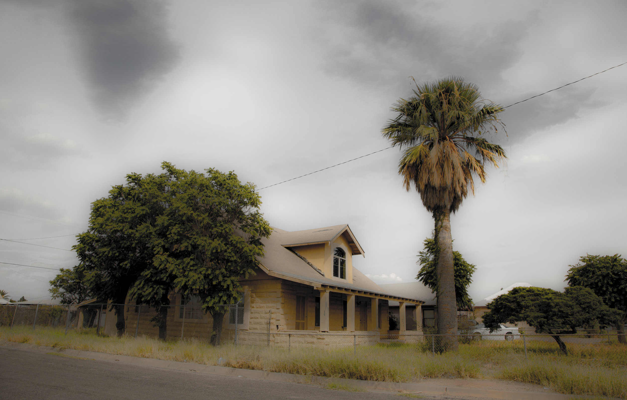 Faustina Tourist Home Near the US/Mexico Border- Douglas Arizona.   Photograph by Candacy Taylor, 2016