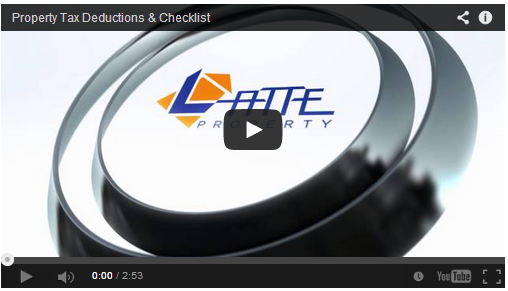Property Tax Deductions Video & Free Checklist