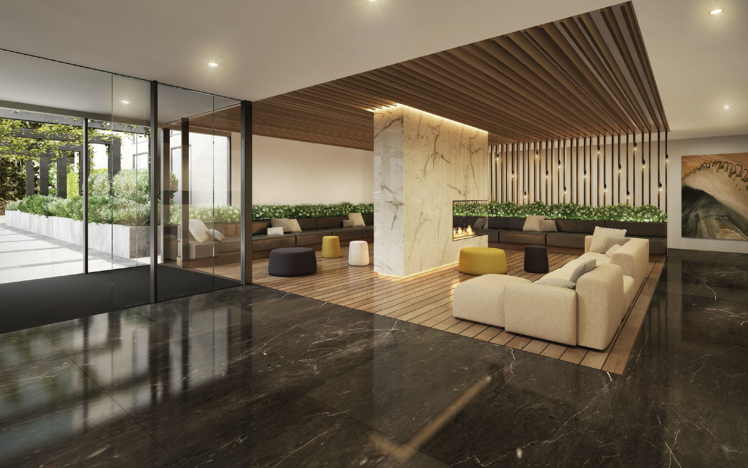 Doncaster Apartments' stylish interior