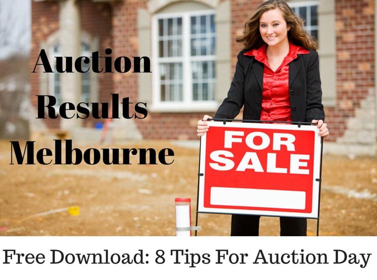 Auction Results Melbourne