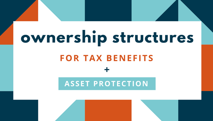 Ownership Structures For Tax Benefits + Asset Protection - Linkedin Pulse.png
