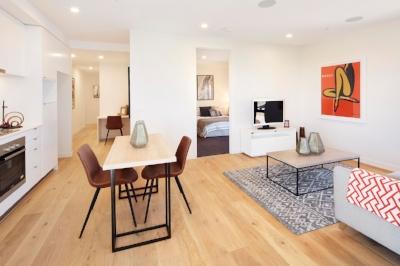 Interior of Brunswick Apartments