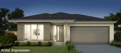 Impression of New Armstrong Creek house and land packages