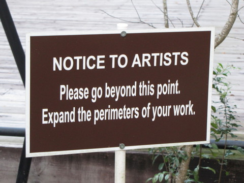 This is where you step off the common path and make your way into exciting ART.