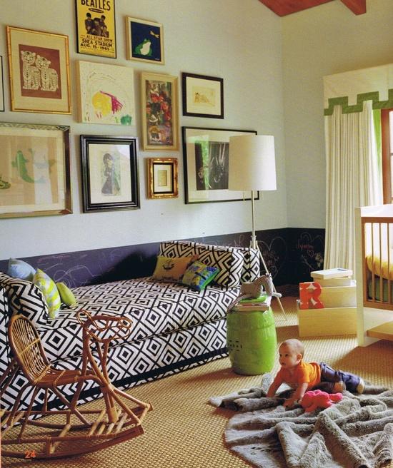 photo by Roger Davies, design by Jennifer Delonge via  Room for Children