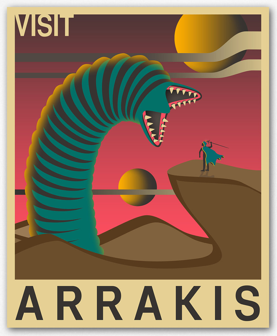 Dune poster $30