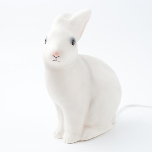 White rabbit lamp $85