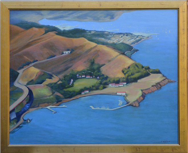 Oil painting by Pat Wallis $1200 (estimated value $4000)