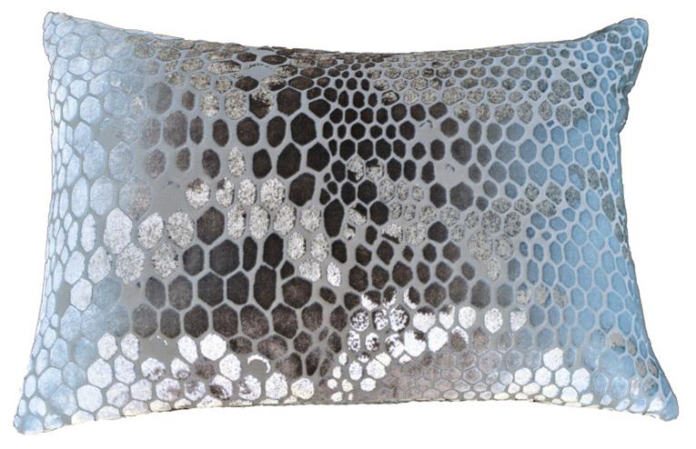 Cut velvet snakeskin print pillow $115 (estimated value $250)