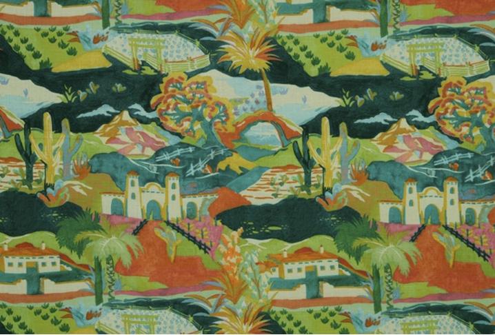 Marciel fabric in Afternoon, $125/yard