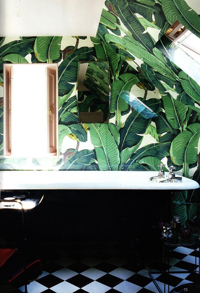 Home of Solange Azagury Partridge via World of Interiors, February 2013