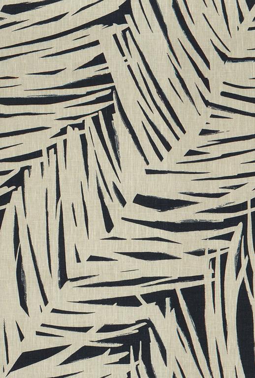 Istria indigo fabric by Kravet
