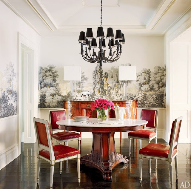 home of Brooke Shields via Architectural Digest