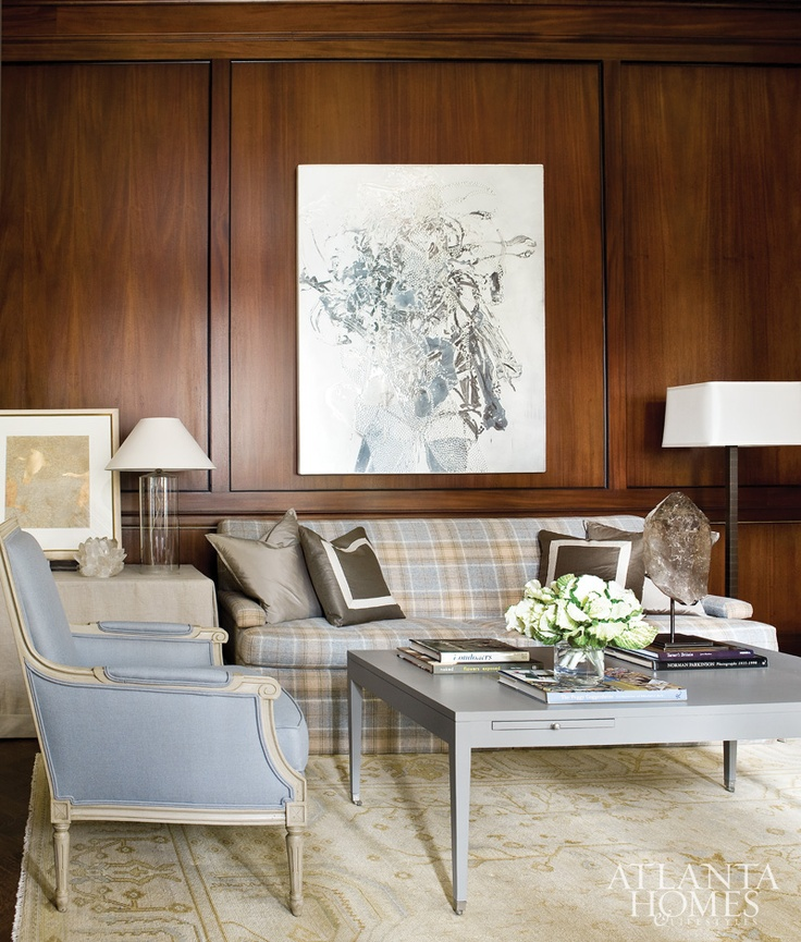 design by Robert Brown, via Atlanta Homes magazine