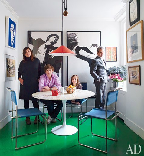 home of Frederic Malle, via Architectural Digest