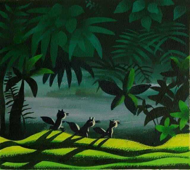 concept art for  Peter Pan  (1953)