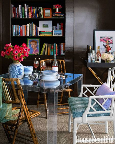 design by Lilly Bunn via House Beautiful