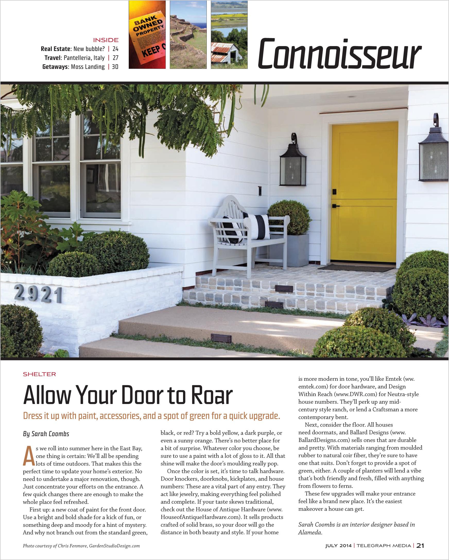 Oakland Magazine  (July 2014)