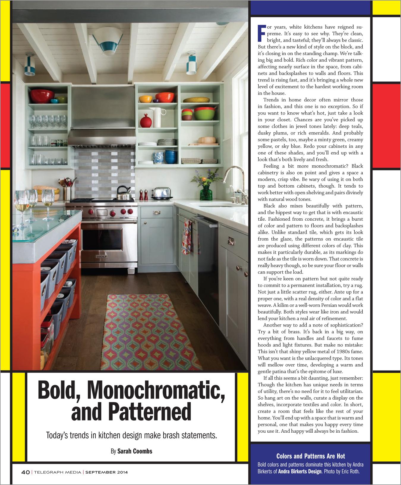 Oakland Magazine  September 2014