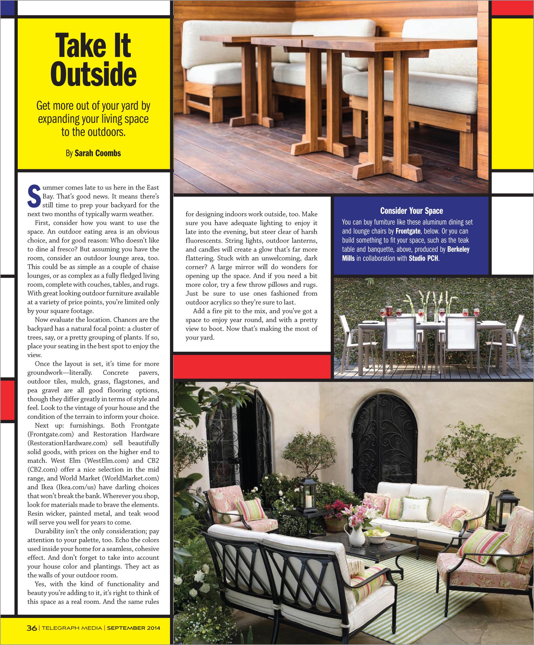 Alameda Magazine September 2014
