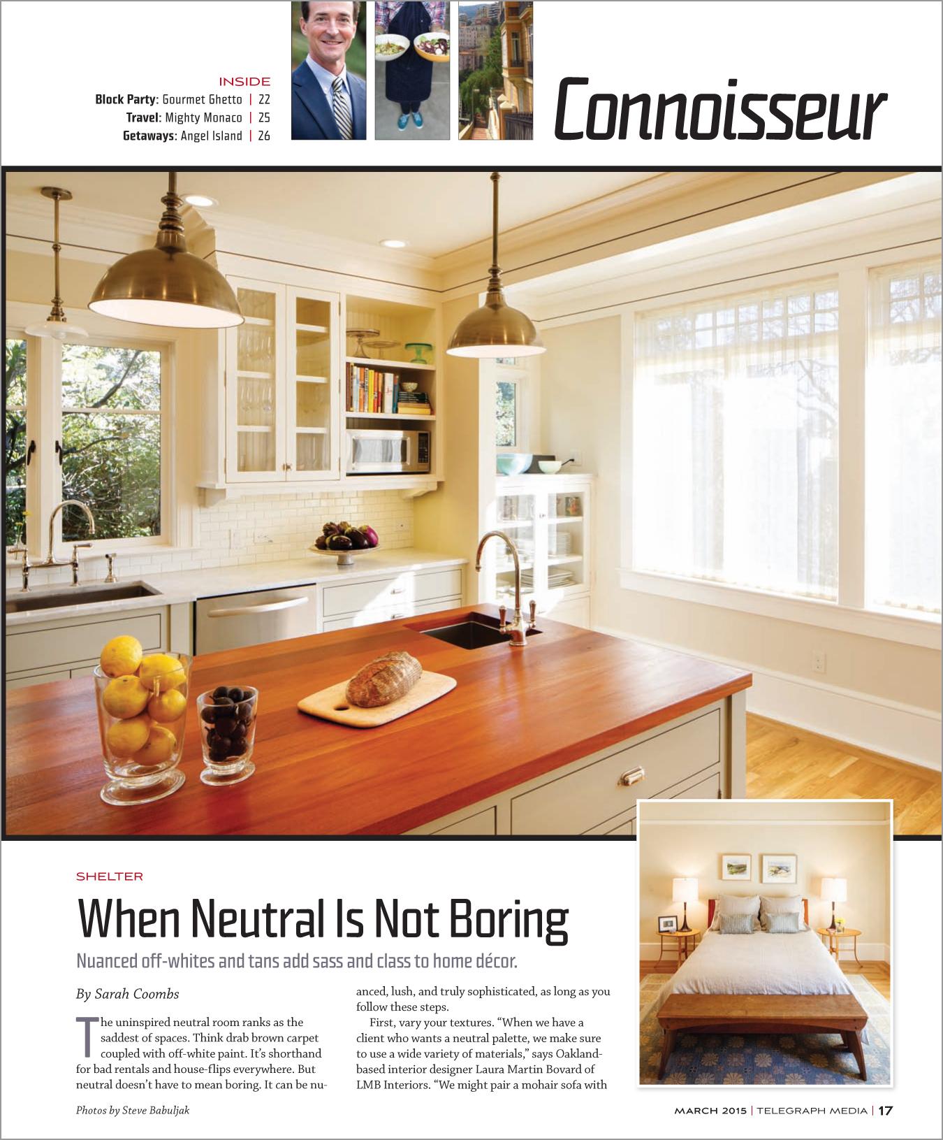 Oakland Magazine March 2015