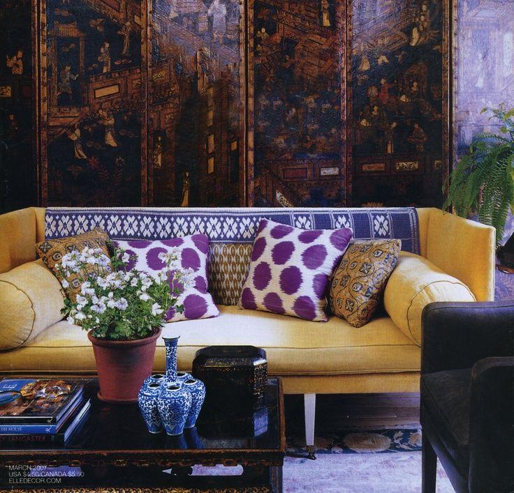 design by Michael S. Smithvia Elle Decor