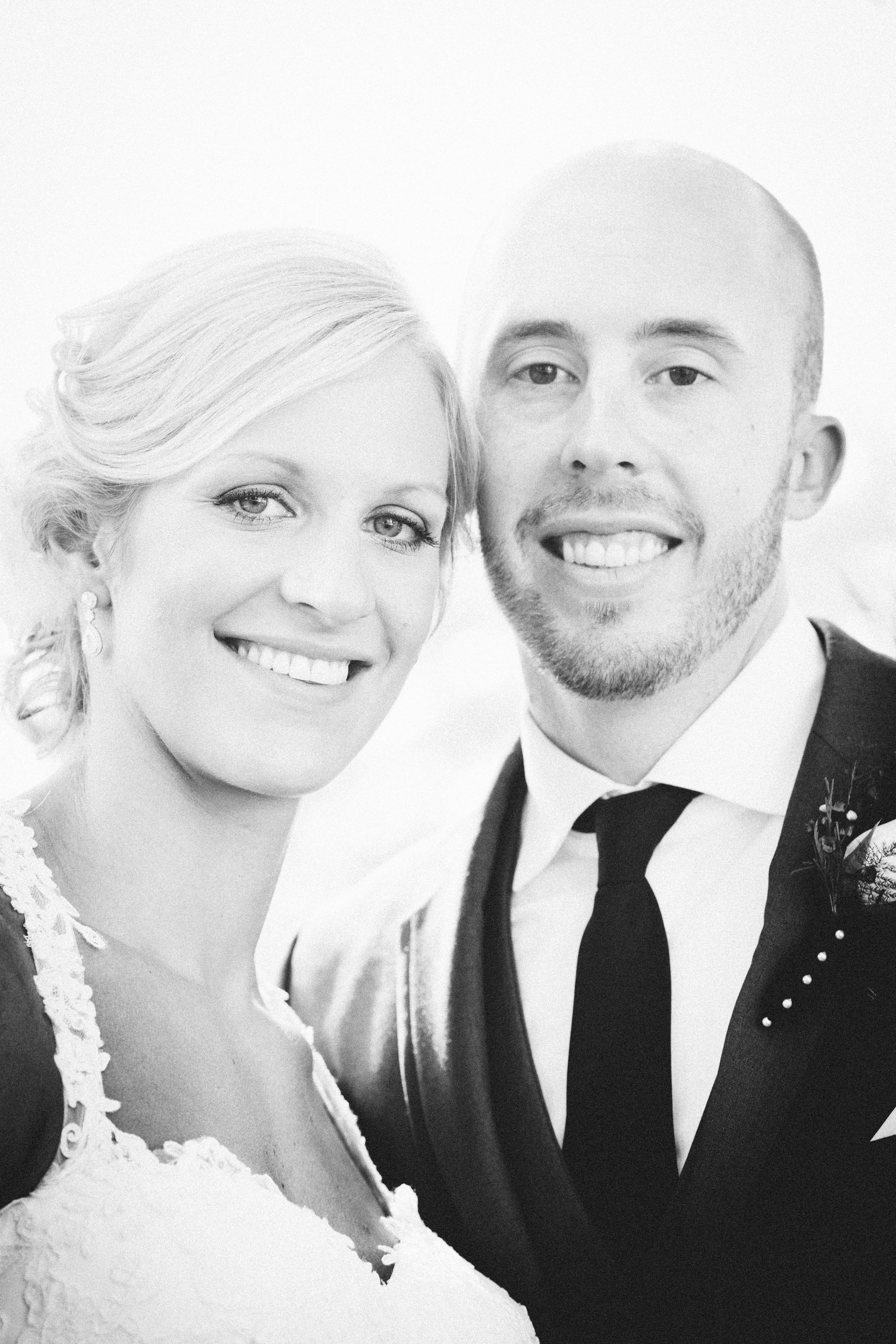 WITH HUSBAND, DEREK. TO READ ABOUT THEIR STORY,  CLICK HERE  WATCH THEIR  WEDDING VIDEO HERE :