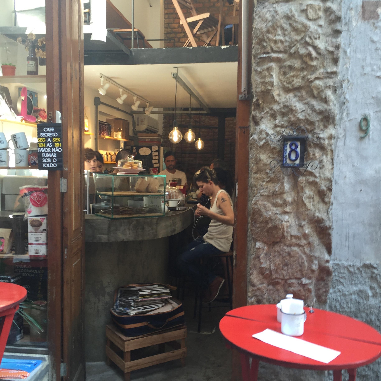 A look inside Cafe Secreto