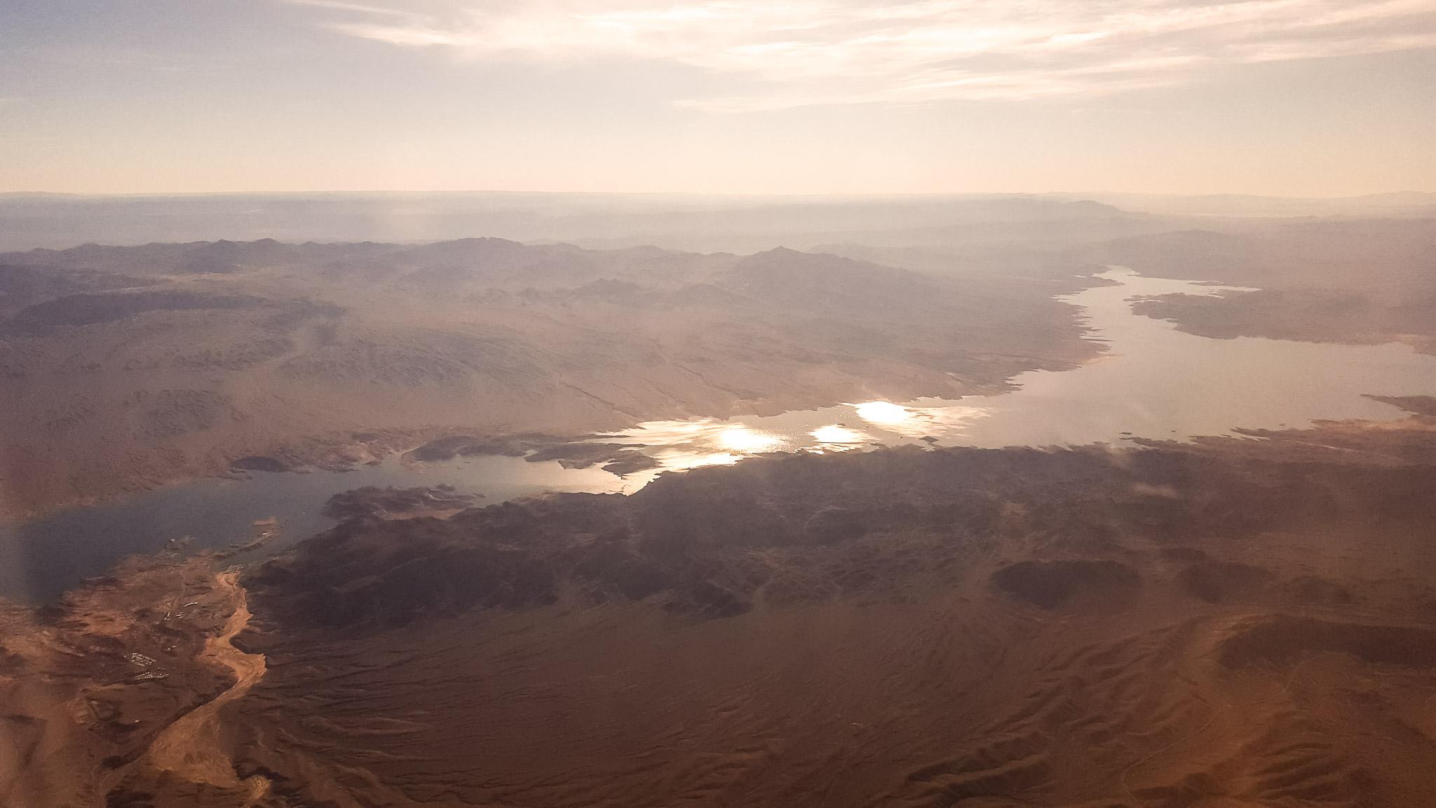 Lake Mead, I'm pretty sure.