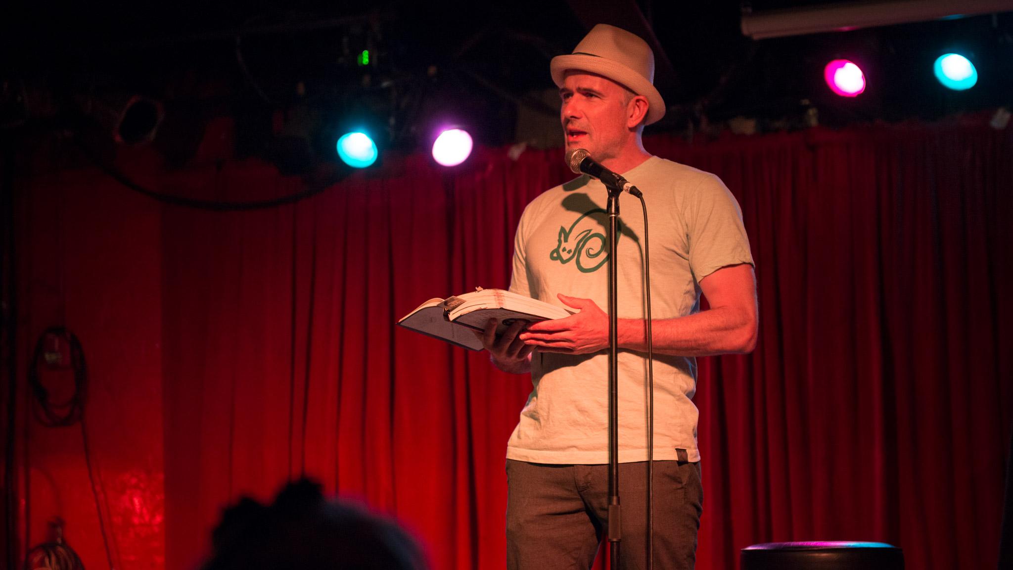 Mark Z. Danielewski  reading at the Grog Shop
