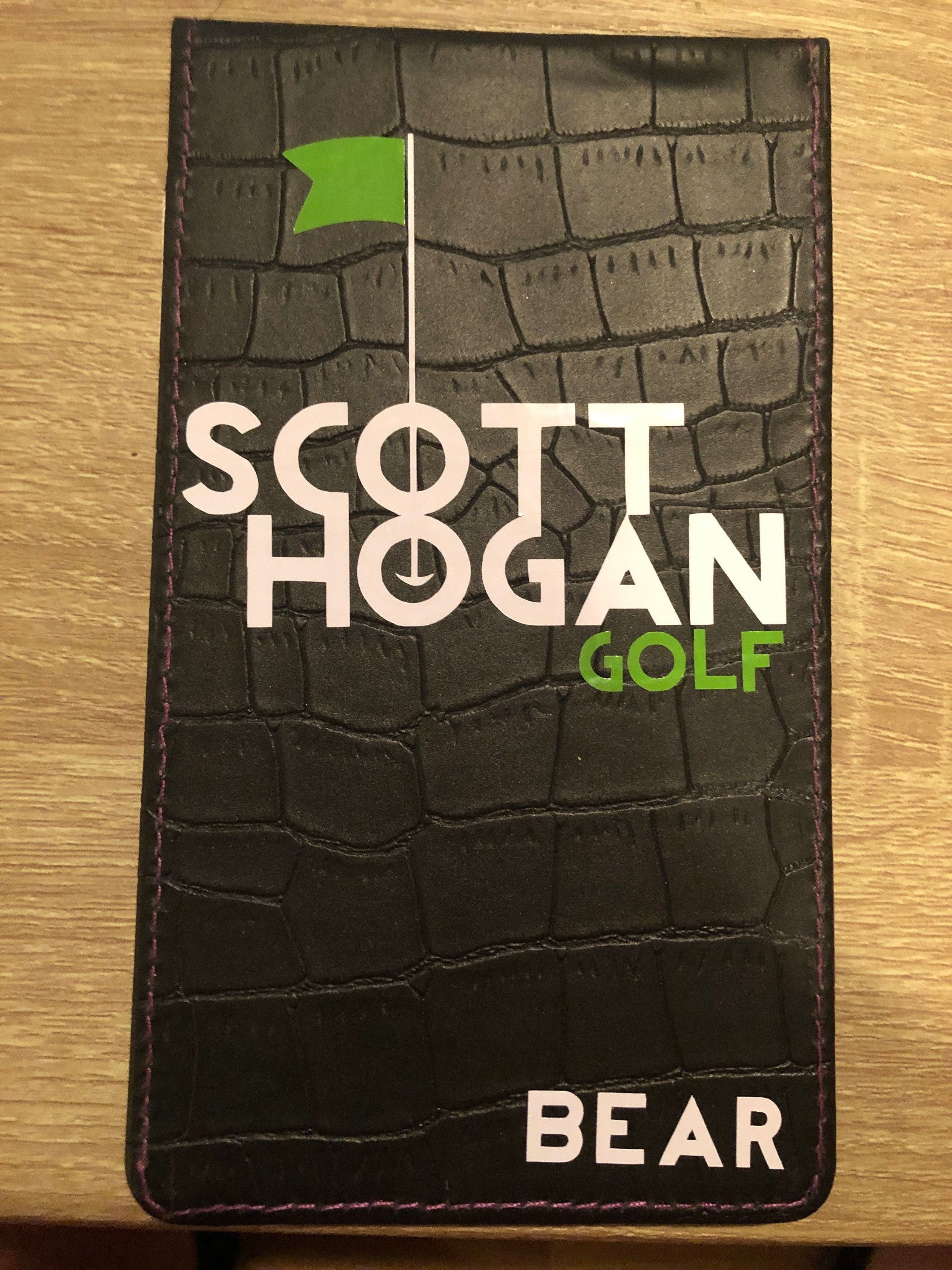 Personalized Yardage Book Cover - 25 Points