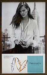 Original Tiffany advertising display