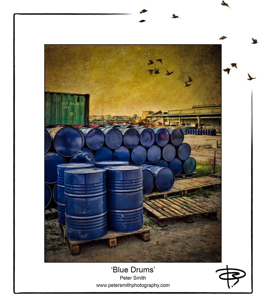 Number 18, 2014, 'Blue Drums'